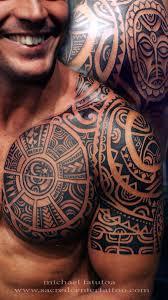 древние полинезийские тату для современных мужчин Archideacomua