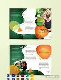 Tri Fold Samples 17 Preschool Brochures In Illustrator Indesign Ms Word