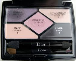 dior 5 couleurs designer all in one professional eye palette 808 purple design review instructions