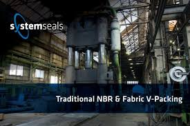 System Seals V Packing Traditional Nbr Fabric V Packing