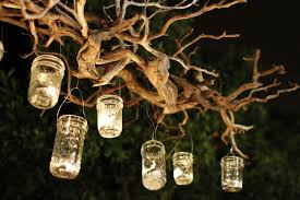 image of outdoor candle chandelier candle lighting ideas