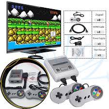 Siêu Mini HD Họ TIVI 8 Bit SNES Video Máy Chơi Game Retro Cổ Điển HD
