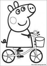 Small Picture Peppa Pig coloring pages on Coloring Bookinfo