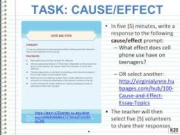 expository tasks expository tasks engage knowwant to know learned task cause effect in five 5 minutes write a response to