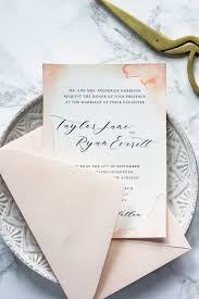 Wedding Invitations Watercolor Subtle Watercolor Wedding Invitations How To Make Your Own