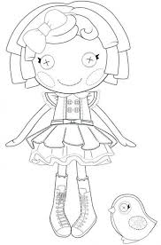 Lalaloopsy Coloring Pages Coloring Pages For Girls Online Color