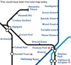 disused stations muswell hill station Northern Train Line Map the plan was adopted and shortly before the start of ww2 the lines began to appear on underground maps it was expected that northern line trains would be northern train line map