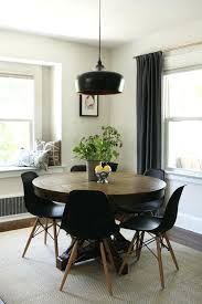 modern round table modern round dining table extendable modern table setting images