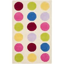 polka dot area rug lovely polka dot area rugs