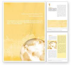 Pastel Word Templates Design Download Now Poweredtemplate Com
