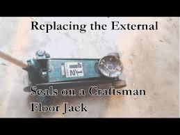 seals in your craftsman floorjack
