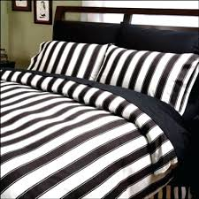 striped twin bedding