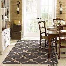 office rug. Handmade Alexa Moroccan Trellis Wool Rug (570x570) Office D