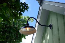 Outdoor Barn Light Gooseneck