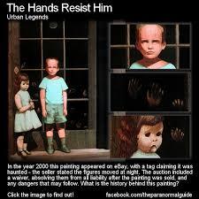 the hands resist him
