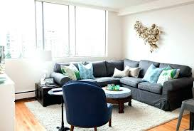gray sectional living room ideas dark grey leather couch couches