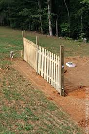 building a fence on uneven ground building a picket fence on uneven ground round designs how building a fence on uneven ground