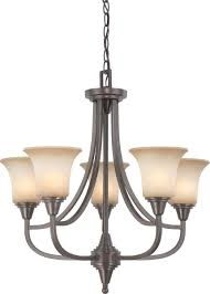 Nuvo Lighting Replacement Glass Nuvo Lighting 60 4166 Surrey Collection Five Light Hanging
