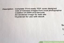 Prepare Invoice How To Prepare A Customer Invoice 9 Steps With Pictures