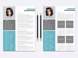 Captivating Photoshop Resume Template On Photoshop Resume Template