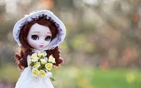 Love Doll Couple Hd Wallpaper