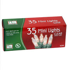 35 Count Clear Christmas Light Set 2 Pack 2