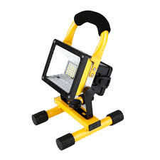 Us 35 86 Waterproof 1000lm Rechargeable Flood Portable 220v Iron Outdoor Emergenency Light Garage Lamp Construction Site Spotlight In Emergency