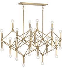 robert abbey 399 jonathan adler milano 30 light 44 inch polished brass chandelier ceiling light