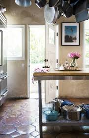 Eclectic Kitchen How To Display Stainless Steel Pots