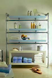 Ikea Lack Shelf Hack Floating Bathroom Shelf Made With Kee Klamp And Lack Components