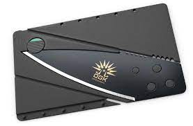 A credit card wallet knife also serves as an emergency knife or last ditch knife. Credit Card Knife For Self Defense