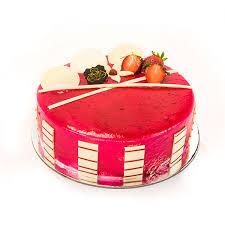 Buy Premium Strawberry Cake One Kg Online In Bangalore Order