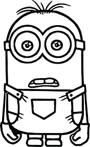 easy coloring book pages color elegant plant simple minion and ready to print eas
