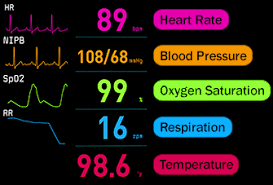 Vital Monitoring Chart How To Read A Vital Signs Monitor