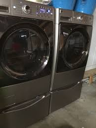 kenmore elite washer and dryer. sears kenmore elite washer/gas dryer/pedestals set fl/original receipts washer and dryer a
