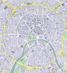 moscow map  detailed city and metro maps of moscow for download
