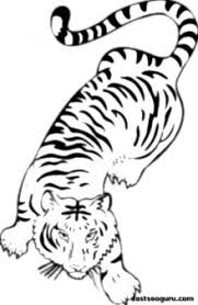 Small Picture Printable jungle Bengal tiger Coloring Pages for Kids Printable