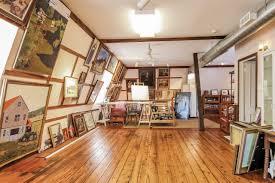 charming artists studio with farmhouse feel artists studio lighting