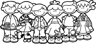 Small Picture 100 Days Of School Children Coloring Page Wecoloringpage