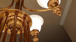 moisture and the wrong cleaning s can damage metal framework make sure you hire a chandelier cleaning specialist that knows how to keep brass