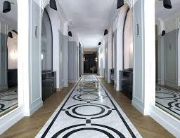 art deco style vinyl flooring hotel revives the roaring with snazzy interiors