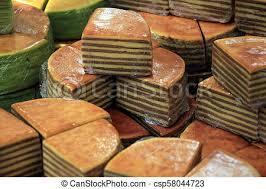 Traditional Indonesian Spekkoek Fresh Baked Spekkoek A Traditional