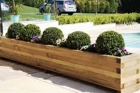 Image of: Large Outdoor Planters DIY