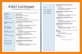 2 Page Resume Format Simple 288 Page Resume Format Template 288 Page Resume Template Two Creddle