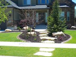Small Picture Elegant Re Landscaping Front Yard Front Yard Landscaping With