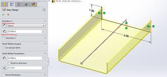 How To Set Up Sheet Metal Gauge Tables Engineers Rule