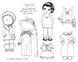 Paper Doll Coloring Pages Munchkins And Mayhem