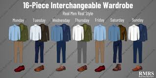 Interchangeable Wardrobe 256 Outfits From 16 Pieces Of