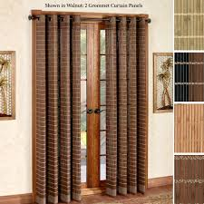 Patio Door Curtain Patio Door Curtain Panels Touch Of Class Cotton Curtains