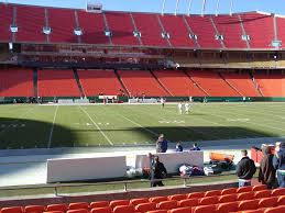 Arrowhead Stadium View From Lower Level 101 Vivid Seats